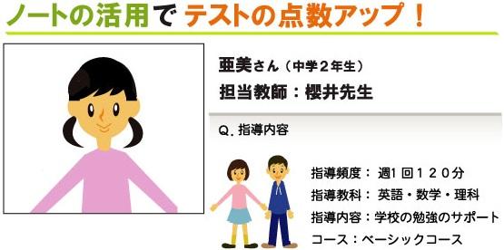 【中学2年生】ノートの活用でテストの点数アップ!!